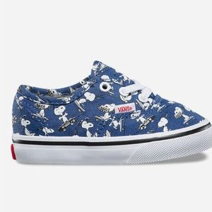 Vans Toddler Snoopy Shoes